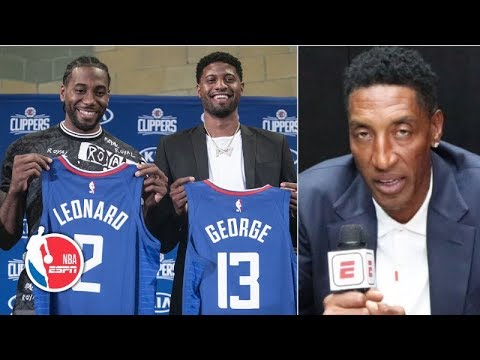 Video: Scottie Pippen gives his early thoughts on the 2019-20 NBA season | NBA on ESPN