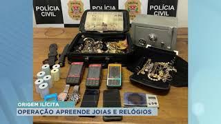 Polícia Civil de Tietê realiza operação e recupera joias roubadas que eram vendidas pela internet