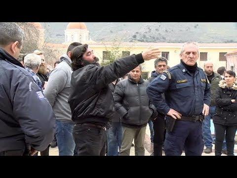 Παραδόθηκε ο δράστης του φονικού στη Νεάπολη Λασιθίου