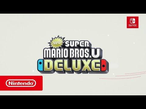 New Super Mario Bros. U Deluxe – Nintendo Switch Announcement Trailer (видео)