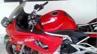 4. 2007 kawasaki ninja 650r air filter removal and cleaning