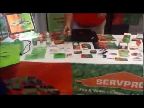 SERVPRO Virtual Trade Show – Trade Show Items