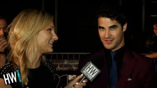 Darren Criss Talks Demi Lovato On 'Glee'&'Music Is Medicine' Cause!