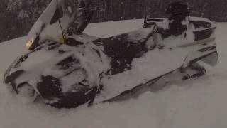 10. Ski Doo Expedition 900 Ace in the snow