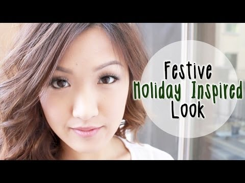 look - Please thumbs up the video if you want more holiday looks! For more beauty products: http://bit.ly/1dMrkvk GIVEAWAY RULES: There will be 2 winners, each winn...