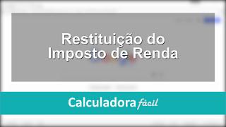 Veja como consultar a restituição do Imposto de Renda 2017 SAIBA MAIS: http://www.calculadorafacil.com.br/trabalhista/restituicao-de-imposto-de-renda Link pa...