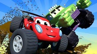 Video THE BEST OF MONSTER TRUCKS CARTOON COMPILATION ! Monster Town - Monster Trucks Cartoons for kids MP3, 3GP, MP4, WEBM, AVI, FLV Oktober 2018