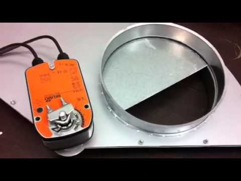 ECO Gate - Electric Slide Damper
