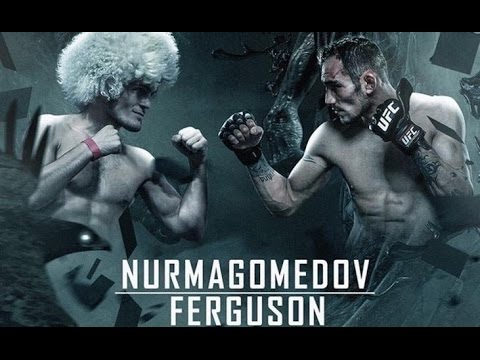 Хабиб Нурмагомедов VS Тони Фергюсон (видео)