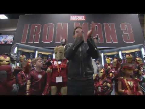 Robert Downey, Jr. Talks 'Iron Man 3' At Comic-Con 2012