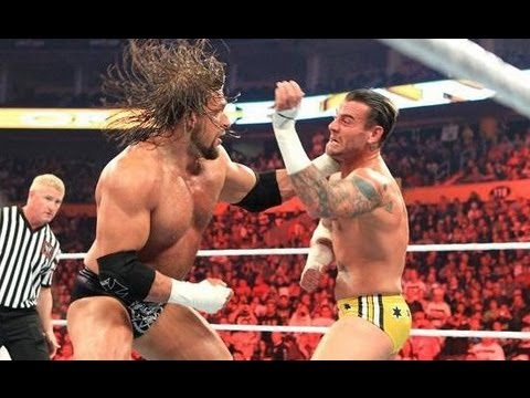 Triple H VS CM Punk Night of Champions 2011 Highlights