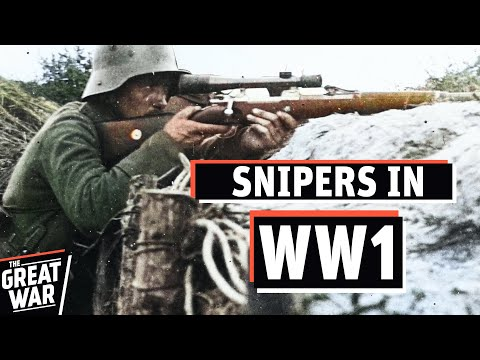 Sharpshooters And Snipers In World War 1 I The Great War Special