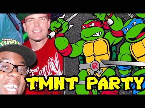 Nerd - Black Nerd at Jared's Epic Ninja Turtles Party w/ Vanilla Ice. Watch Stewdippin Recap: http://youtu.be/8Xna4GtKm2Q SUBSCRIBE! Join the Black Nerd Cousins: ht...