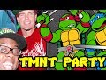 EPIC NINJA TURTLES PARTY with VANILLA ICE : Black Nerd