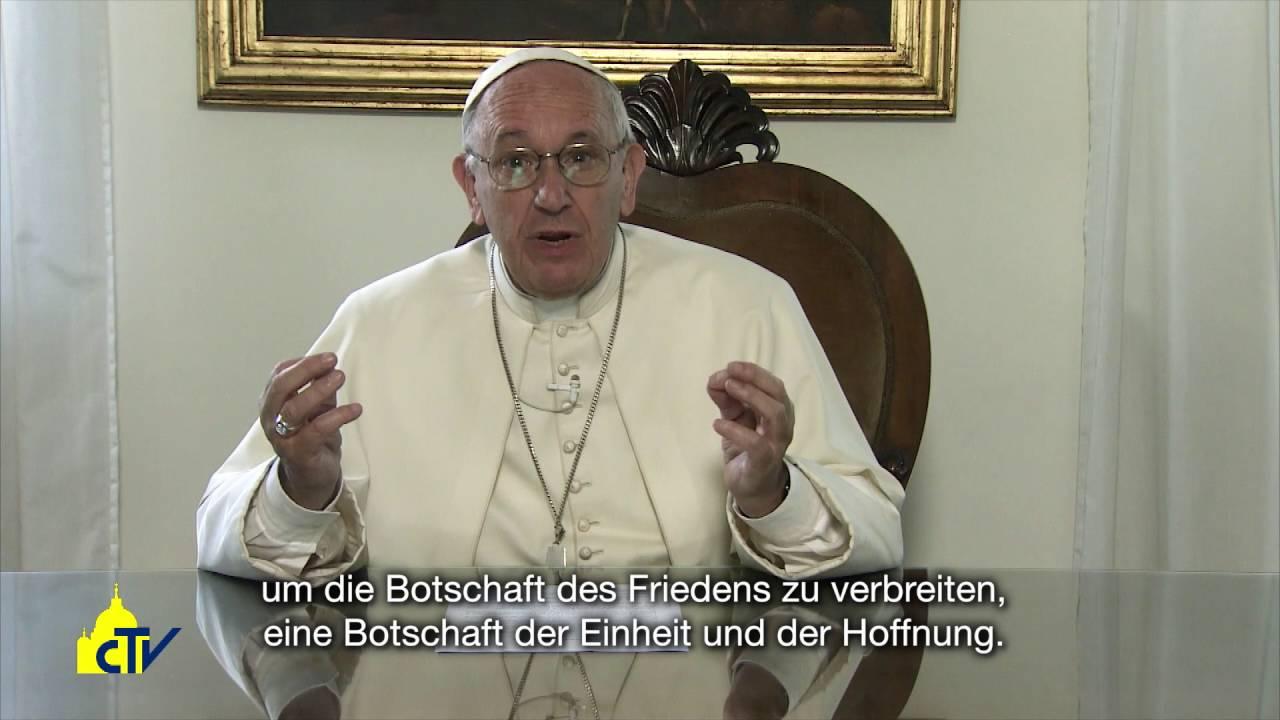 """""""Der Friede in Syrien ist möglich!"""" Videobotschaft von Papst Franziskus"""
