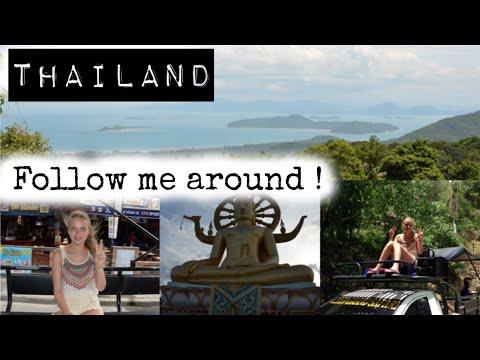 THAILAND FOLLOW ME AROUND/BANGKOK/KOH SAMUI/Roomtour