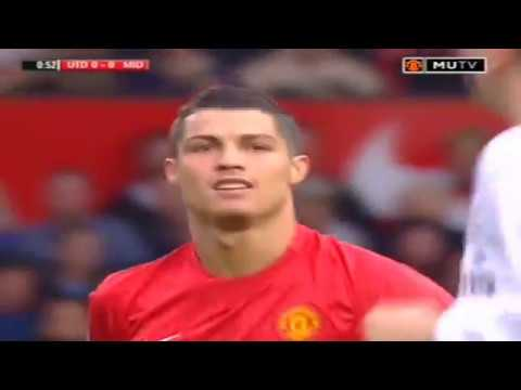 Cristiano Ronaldo Vs Middlesbrough Home 2007