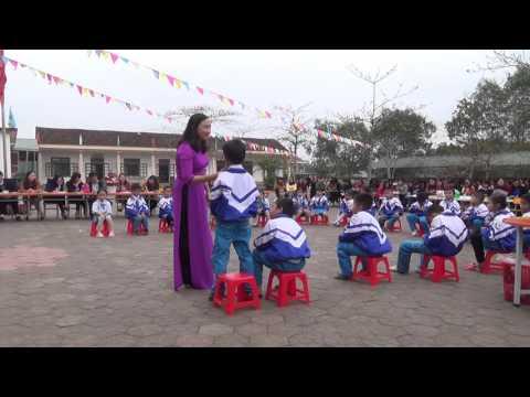 Tiết dạy học chuyên đề ngoài trời (video 2)