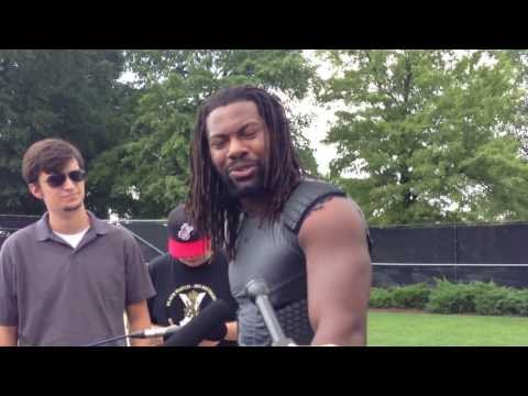 Za'Darius Smith Post-Practice Interview 8/23/2013 video.