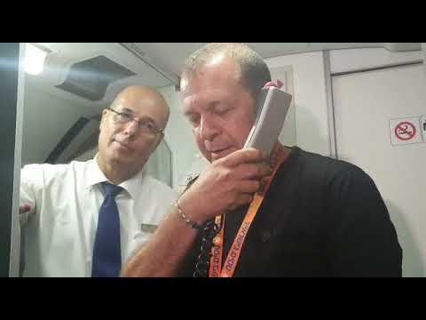 """תם ונשלם: מנכ""""ל ישראייר מדבר בטיסת ישראייר האחרונה לשדה דב. באדיבות ישראייר"""