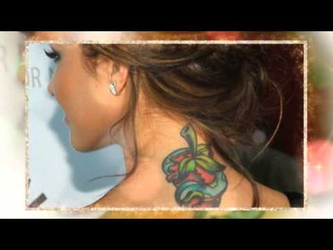 Top 25 Female Celebrity Tattoos