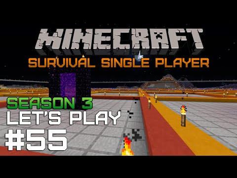 Minecraft SSP #55 — Ферма железа: Разметка [Season 3]