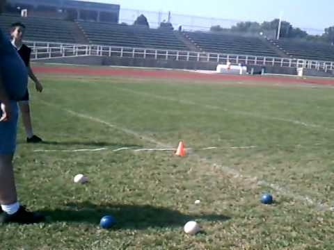 Watch video Down Syndrome: Special Olympics bocce