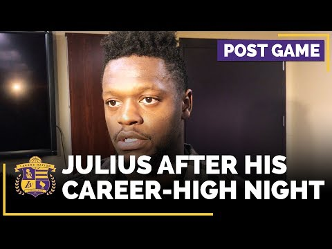 Video: Julius Randle After His Career-High Night