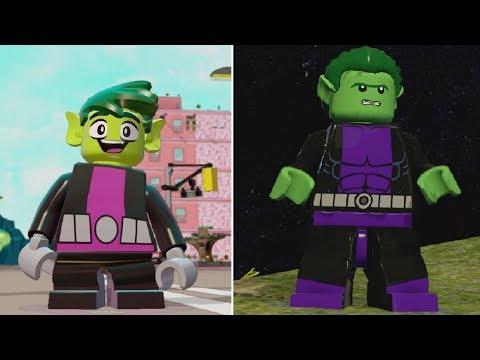 Beast Boy - DC Comics Vs. Teen Titans Go! + Transformations (LEGO Videogames)