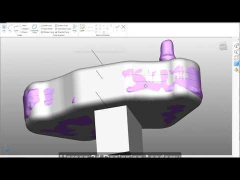 Reverse Engineering In Autodesk Powershape 2018