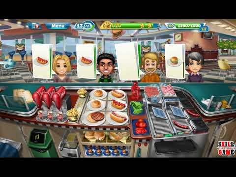 Cooking Fever - Fast Food Court Level 34 - Walkthrough