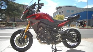 7. 2015 Yamaha FJ-09 Candy Red