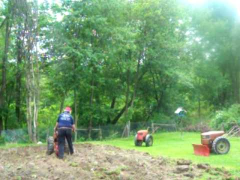 david bradley tractor - Just finishing up putting in the 2010 garden had to use