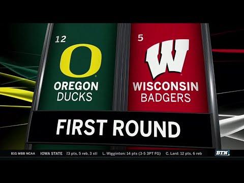 Highlights & Analysis: No. 5 Wisconsin Falls to No. 12 Oregon | 2019 NCAA Tournament