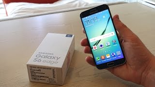 Samsung Galaxy S6 Edge Unboxing + First Impressions!
