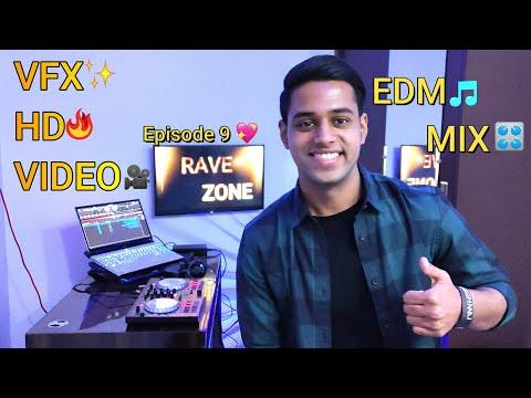 Rave Zone Episode 9   EDM MIX   VFX HD Video   With DDJ SB - 2 (Big Room, Trap, Hardstyle)
