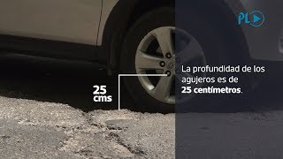 Prensa Libre realizó un recorrido del kilómetro 65 al 75 de la ruta al Pacífico y documentó que en una muestra de 10 km, el 75 por ciento está deteriorada principalmente por agujeros. (Video Prensa Libre. A. González)