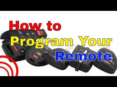 1997 to 2003 Pontiac Grand Prix Factory Remote Transmitter Programming How To