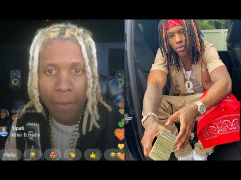 Lil Durk Finds Out King Von Got Shot While On Live