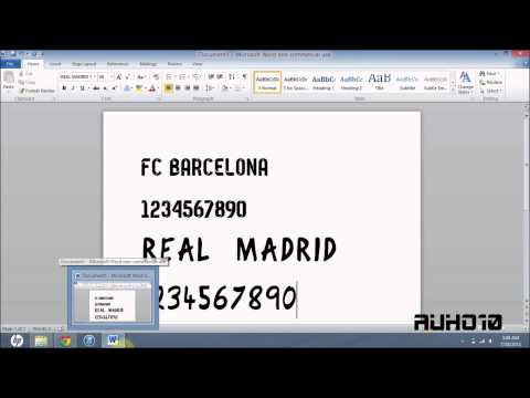 Download FC Barcelona & Real Madrid 13/14 Fonts