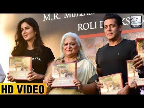 Salman Khan & Katrina Kaif Launch Bina Kak's Book