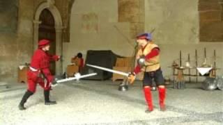 Video Duello rinascimentale di spada e brocchiere MP3, 3GP, MP4, WEBM, AVI, FLV Juli 2018