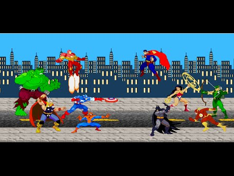 Video Avengers VS Justice League download in MP3, 3GP, MP4, WEBM, AVI, FLV January 2017