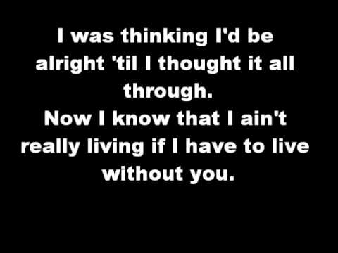 Tekst piosenki Chicago - Don't Want To Live Without You po polsku