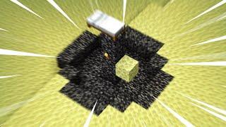 Speed Running The First Minecraft World I Create