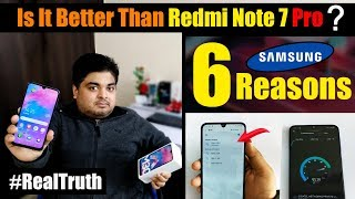SAMSUNG GALAXY M30 - QUICK REVIEW & UNBOXING | IS IT BETTER THAN REDMI NOTE 7 PRO? | #RealTruth