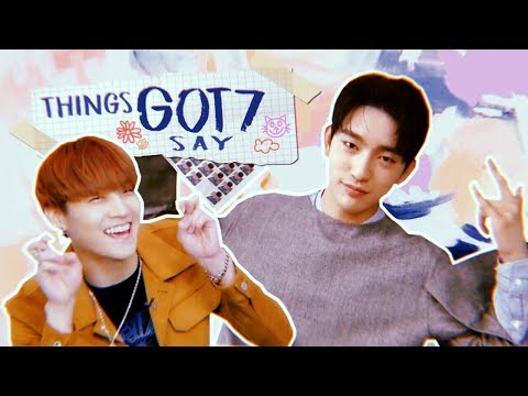 THINGS GOT7 SAY THAT SEEM LIKE FAKE SUBS BUT AREN'T