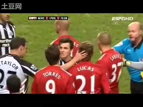Joey Barton Fight Fernando Torres (видео)