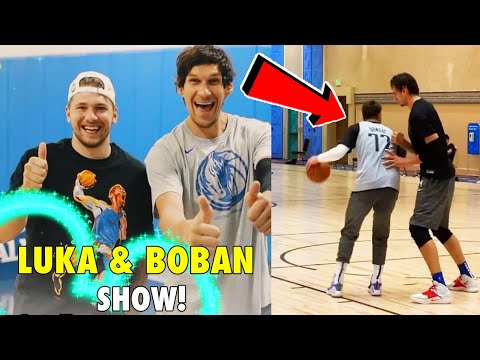 Luka Doncic & Boban Marjanovic are BEST FRIENDS in the NBA
