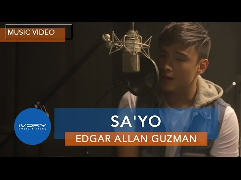 Edgar Allan Guzman | Sa'Yo | Official Music Video